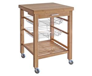Keuken Trolley Keukenverlichting : De praktische & ruimtebesparende keukentrolley westwing