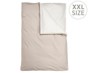 Dekbedovertrek Marie, beige/creme, 200 x 200 cm