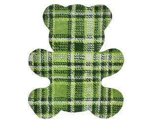 Tapijt Teddy, groen, 100 x 120 cm