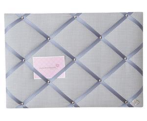 Memobord Classico, grijs/wit/lichtgrijs, 45x65 cm