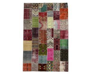 Handgemaakt patchworktapijt Fairuz, 297 x 194 cm