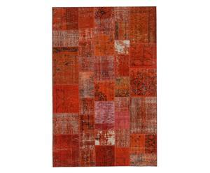 Handgemaakt patchworktapijt Kurus, 302 x 197 cm