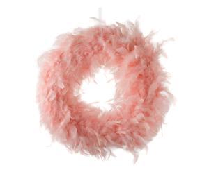 Decoratieve krans Jasmin, roze, diameter 40 cm