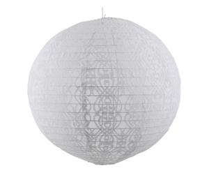 Lampion Estelle, wit, diameter 35 cm