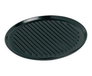 Bakplaat Carlo, zwart, diameter 31 cm