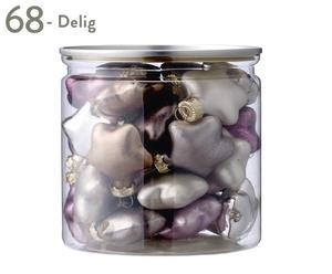 Set van 68 kerstballen Sarah, diameter 3 cm