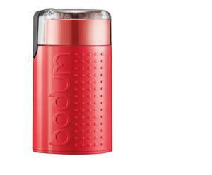 Elektrische koffiemolen Bistro, rood, H 23 cm