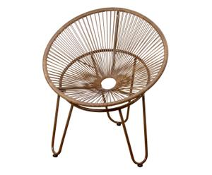 Acapulco-stoel Eddy, bruin, B 79 cm