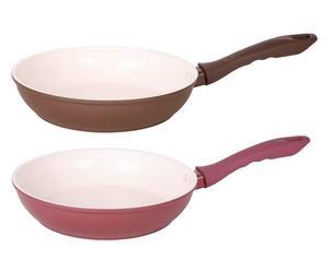 Koekenpannen-set Ellen, 2-delig, diameter 22 cm