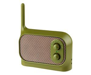 Draagbare radio Mezzo, khaki, B 16 cm