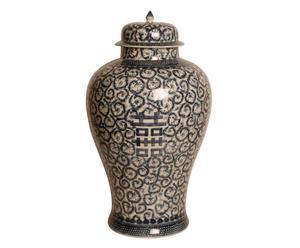 Vaas met deksel Geraldine, H 65 cm