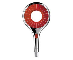 Douchekop Rainshower, rood, L 28 cm
