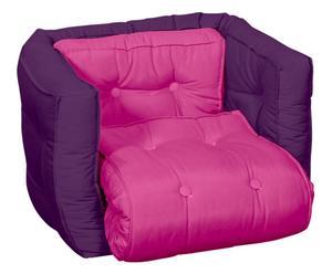 Multifunctionele kinderstoel Dice, roze/pair, B 40 cm