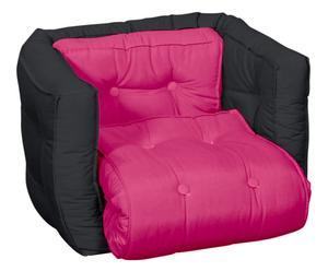 Multifunctionele kinderstoel Dice, grijs/roze, B 40 cm
