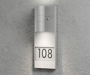 Huisnummerlamp Menara, H 42 cm
