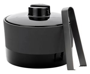 Zelfkoelende ijsemmer Cooler, zwart, 1,4 L