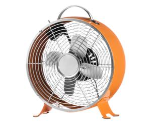 Ventilator Joana, orange, H 31 cm