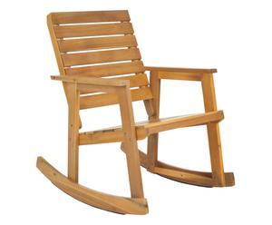 In- & outdoor schommelstoel Alexei, naturel, B 61 cm