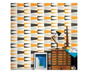 Papier behang Carnaval Orange, multicolour, L 10 m