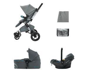 Kinderwagen-set Mobility Neo Air Scout, grijs