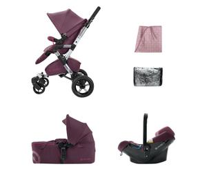 Kinderwagen-set Mobility Neo Air Scout, roze