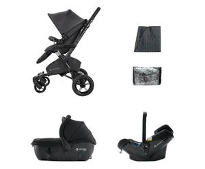Kinderwagen-set Travel Neo Air Sleeper, zwart