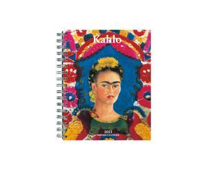Taschenkalender Frida Kahlo mit Spiralbindung, 17 x 22 cm