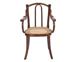 Thonet-Kinderstoel met armleuningen, uit 1910, B 43 cm