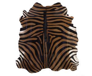 Tapijt Safari, zwart/bruin