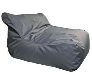 Zitzak Maxi, grijs, H 80 cm