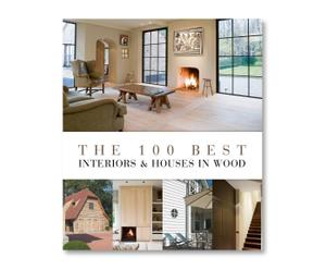 Koffietafelboek Interiors & Houses In Wood