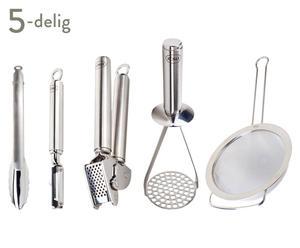 Keukengereedschap-set Kitchen Basics, 5-delig
