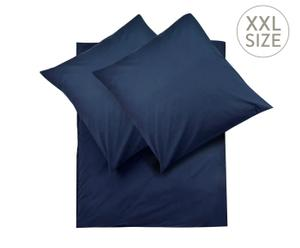 Overtrekset PEACH, 3-delig, Blauw, 200 x 200 cm