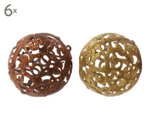 Kerstballenset Keira, 12-delig, Ø 8 cm
