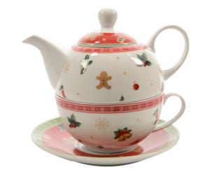 Tea-For-One-set Ophelia, 3-delig, H 15 cm