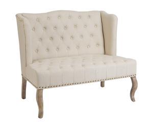 2-zits sofa, beige
