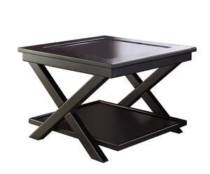 Vierkante salontafel, grenenhout