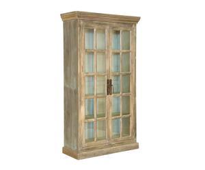 Glazen Wand Vitrinekast.Shop Hier Nu Die Unieke Antieke Vitrinekast Westwing