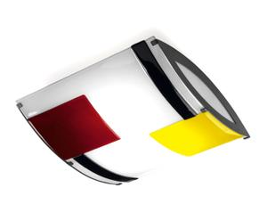 Plafondlamp multicolor