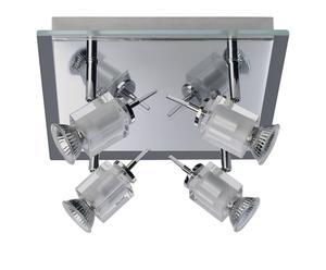 Plafondlamp met 4 spots