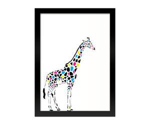 Ingelijste afbeelding Giraffe