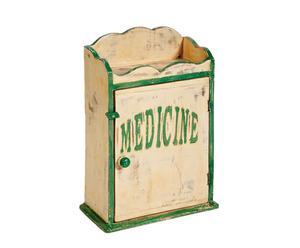 Houten medicijnkastje Medicine