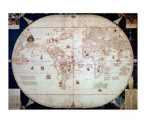 Wereldkaart (1544), van Sebastiano Caboto