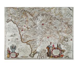 Kaart van het Florentijnse rijk
