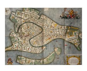 Landkaart van Venetie