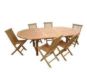 Tuinset TERREBONNE met verlengstuk tafel