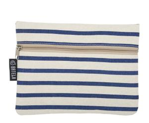 Portemonnee Deauville II, blauw, wit, 2 stuks