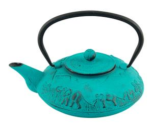 Theepot Ali, turquoise, inhoud 1 L