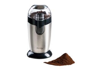 Koffiemolen Do, zilver/zwart, L 20 cm
