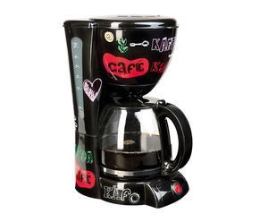 Koffiezetapparaat Tyas, multicolour/zwart, H 32 cm